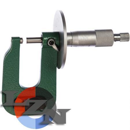 Микрометр листовой МЛ-100 0,01 - фото